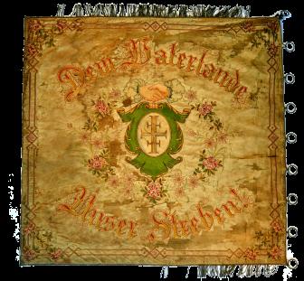 Fahne 1904 hinten
